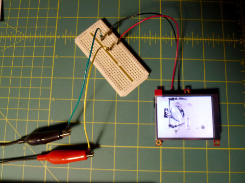 test with 6V DC power